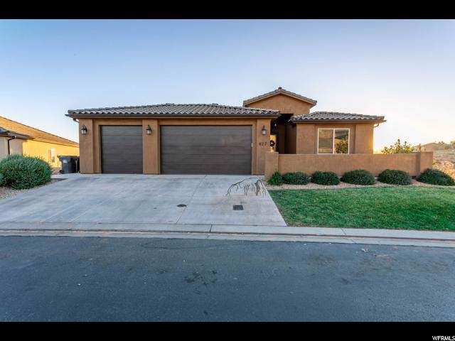 427 N Creek Ridge Dr, Washington, UT 84780 (#1643006) :: Doxey Real Estate Group