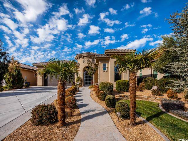 654 S Alienta Dr W, St. George, UT 84770 (#1643031) :: Red Sign Team