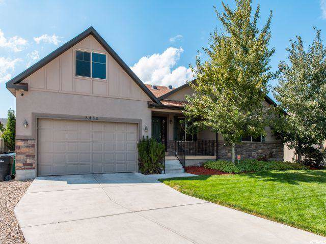 8482 S Spiral Jetty Cir W, West Jordan, UT 84081 (#1643341) :: goBE Realty