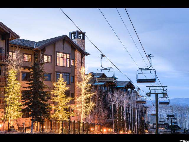 8886 Empire Club Dr #408, Park City, UT 84060 (#1643620) :: Doxey Real Estate Group