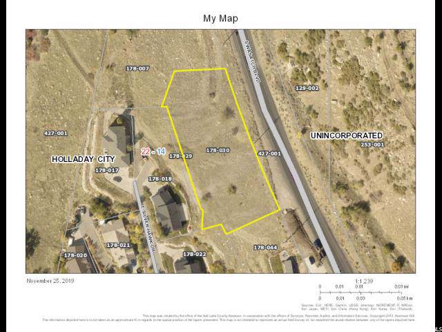 5618 S Wasatch Blvd, Holladay, UT 84121 (#1643882) :: The Muve Group
