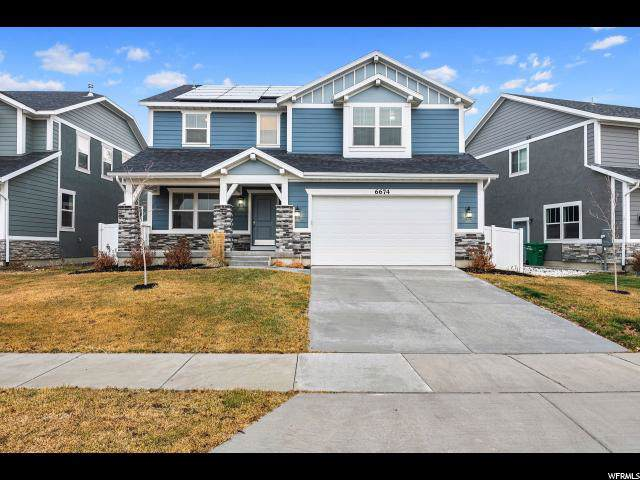6674 W Terrace Sky Ln, West Jordan, UT 84081 (#1643998) :: Red Sign Team