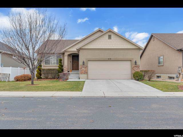 412 S 460 W, Spanish Fork, UT 84660 (#1644011) :: Big Key Real Estate