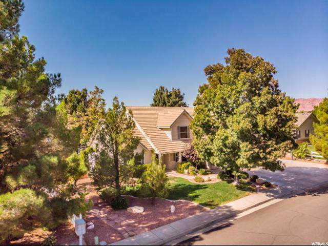 739 Sweet Springs Dr, Santa Clara, UT 84765 (#1644182) :: Red Sign Team