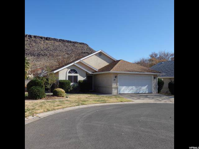 710 S Indianhills Dr #22, St. George, UT 84770 (#1644316) :: Red Sign Team