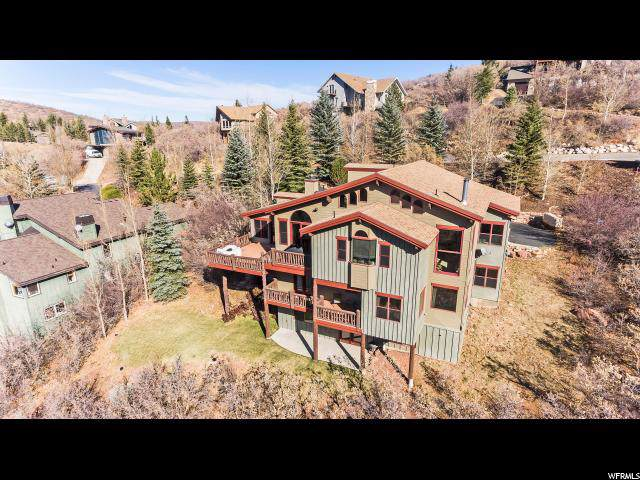 7706 Tall Oaks Dr, Park City, UT 84098 (#1644537) :: Colemere Realty Associates