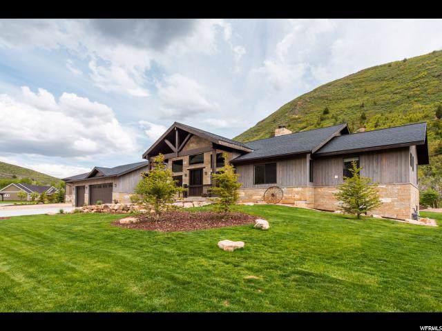 892 E 350 S, Kamas, UT 84036 (MLS #1644581) :: High Country Properties