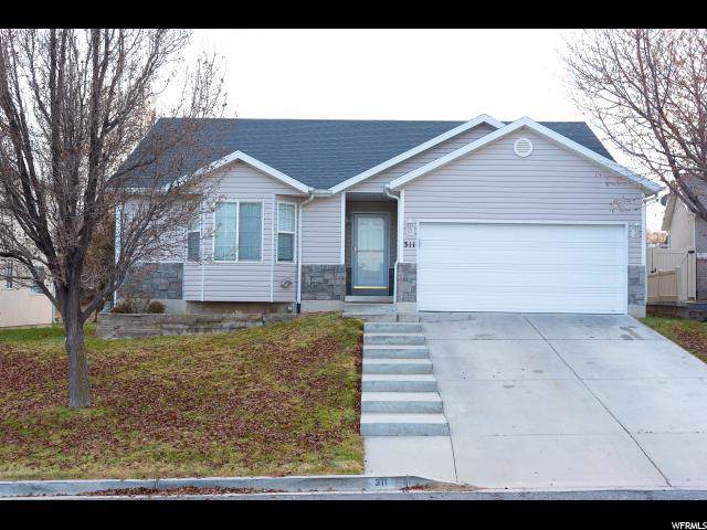311 W Harvest Moon Dr, Saratoga Springs, UT 84045 (#1644596) :: Red Sign Team