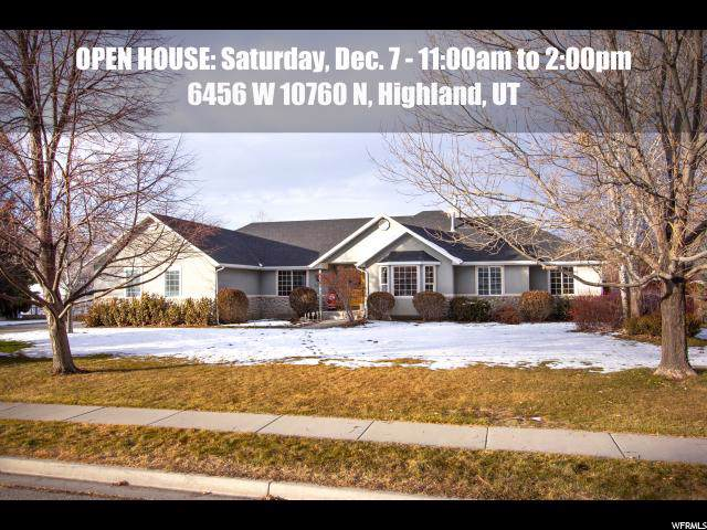 6456 W 10760 N, Highland, UT 84003 (#1644705) :: Action Team Realty