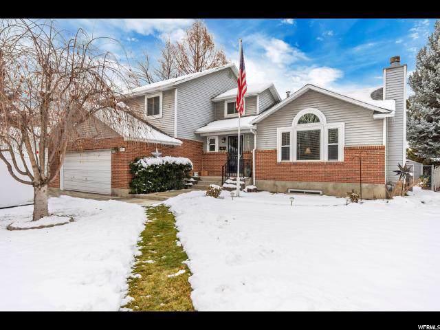 6074 S Fontaine Bleu Dr, Murray, UT 84121 (#1644792) :: Bustos Real Estate | Keller Williams Utah Realtors