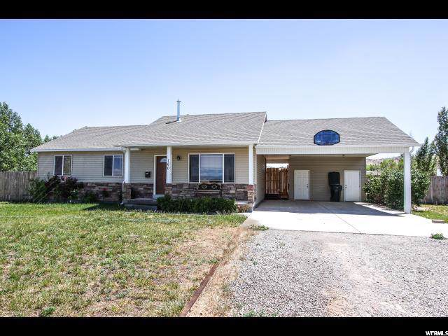160 E 4800 S, Vernal, UT 84078 (#1644803) :: Exit Realty Success