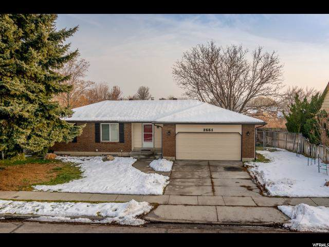 2551 W Ledgewood Dr S, Taylorsville, UT 84129 (#1644922) :: Exit Realty Success
