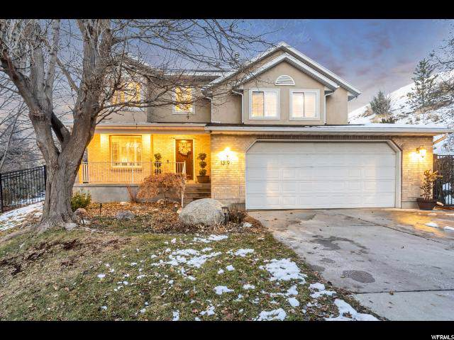 1319 E Milne Ln, Cottonwood Heights, UT 84047 (#1644952) :: The Fields Team