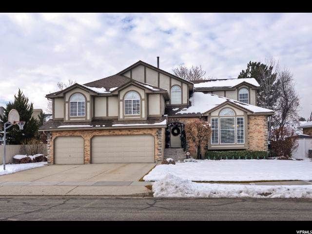 8846 S Renegade Rd E, Sandy, UT 84093 (#1645070) :: Doxey Real Estate Group