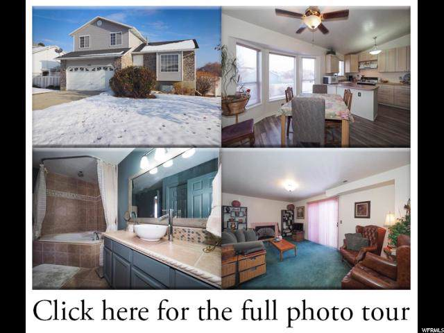 5436 W Ticklegrass Rd S, West Jordan, UT 84081 (#1645112) :: Big Key Real Estate