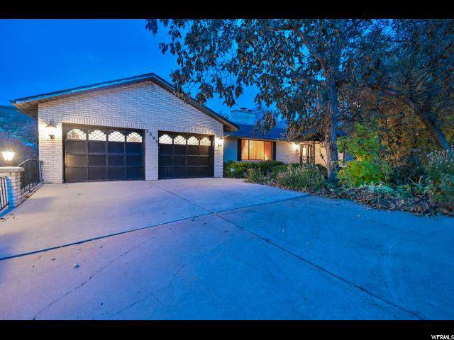 2309 S Cave Hollow Way E, Bountiful, UT 84010 (#1645118) :: Action Team Realty