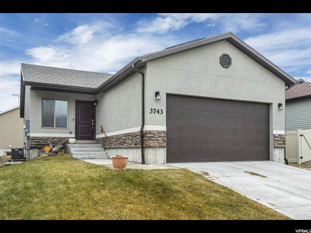 3743 N Downwater St, Eagle Mountain, UT 84005 (#1645282) :: Red Sign Team