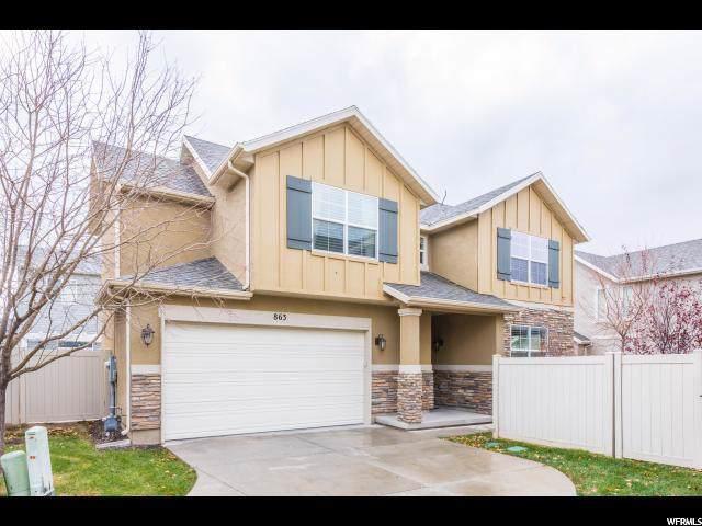 863 W Wilstead Dr N, North Salt Lake, UT 84054 (#1645357) :: RISE Realty