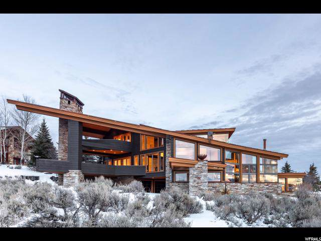 7871 N West Hills Trl, Park City, UT 84098 (#1645444) :: The Fields Team