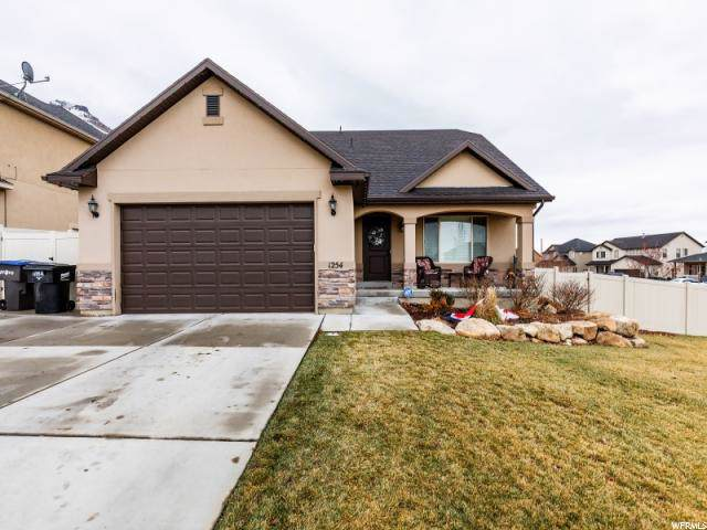 1254 E Cinnamon Ridge Way, Provo, UT 84606 (#1645530) :: Exit Realty Success