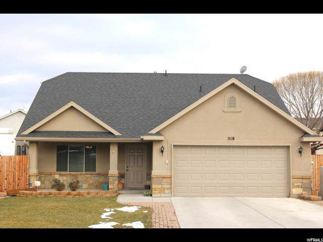 518 Ridge Place Dr, Ogden, UT 84404 (#1645655) :: RISE Realty