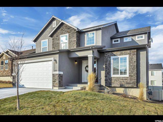 431 Topaz Dr, Santaquin, UT 84655 (#1645716) :: Red Sign Team