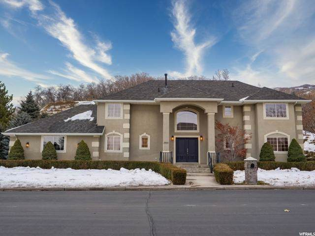 3901 S Glade Hollow Way E, Bountiful, UT 84010 (#1645973) :: Exit Realty Success