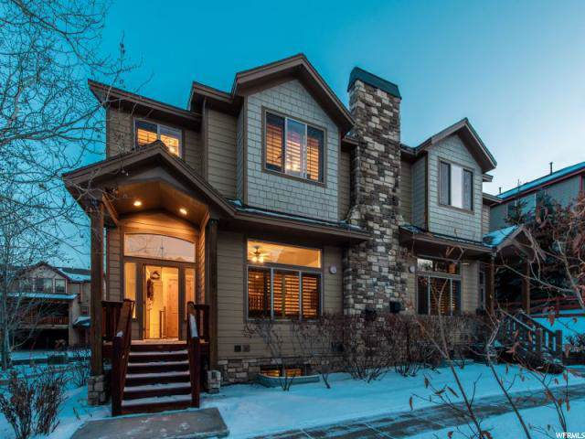 5543 N Slalom Way, Park City, UT 84098 (#1646150) :: Red Sign Team
