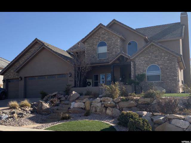 986 E High Noon Cir, Washington, UT 84780 (#1646174) :: goBE Realty
