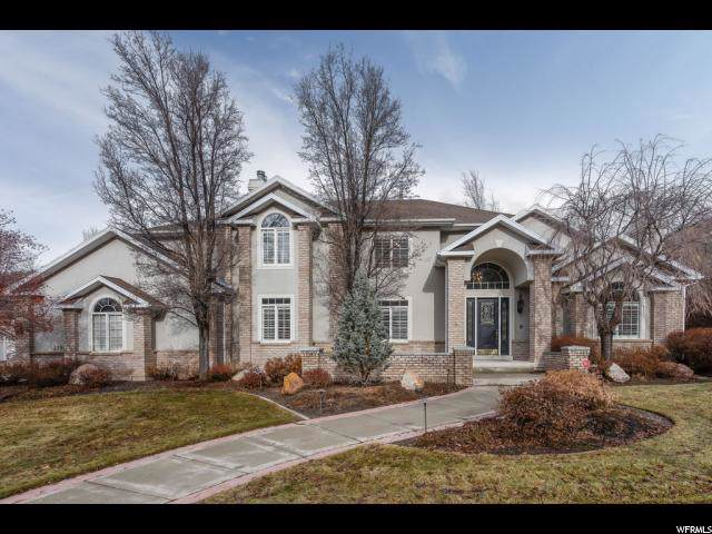 3399 E Stone Mountain Ln, Sandy, UT 84092 (#1646250) :: Red Sign Team