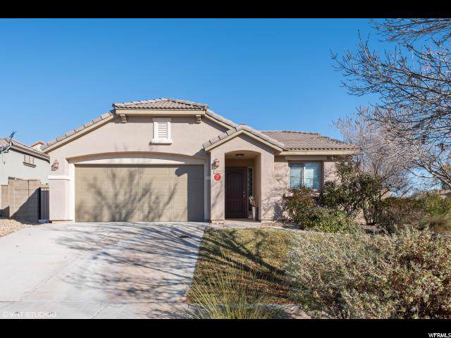 2627 E Hilltop Ledge Drive, Washington, UT 84780 (#1646654) :: Exit Realty Success