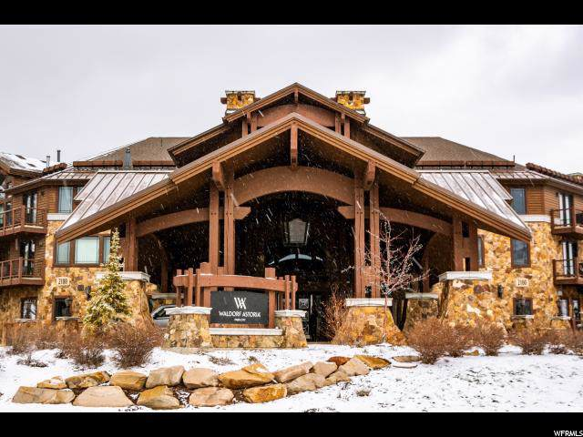 2100 W Frostwood Blvd W #5126, Park City, UT 84098 (#1646889) :: Big Key Real Estate
