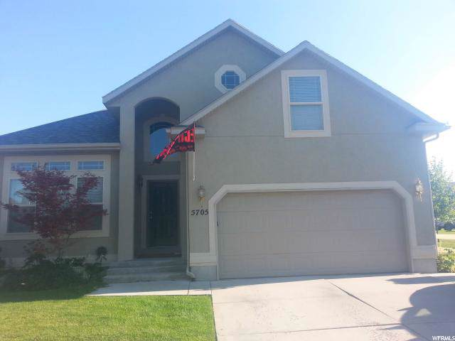 5705 W Cliffhaven Ln, West Valley City, UT 84128 (#1646978) :: Red Sign Team