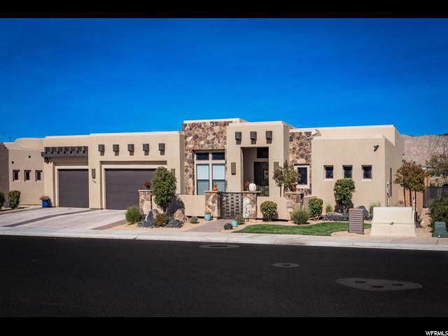 1598 W Canyon Tree Dr N, St. George, UT 84770 (#1647226) :: The Fields Team