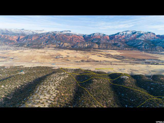 22 Acres Off Kanarra Hills Dr, Kanarraville, UT 84742 (#1647834) :: Red Sign Team