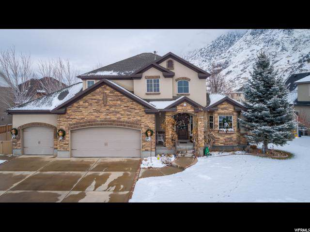 4134 N View Pointe Dr, Highland, UT 84003 (#1647835) :: Red Sign Team