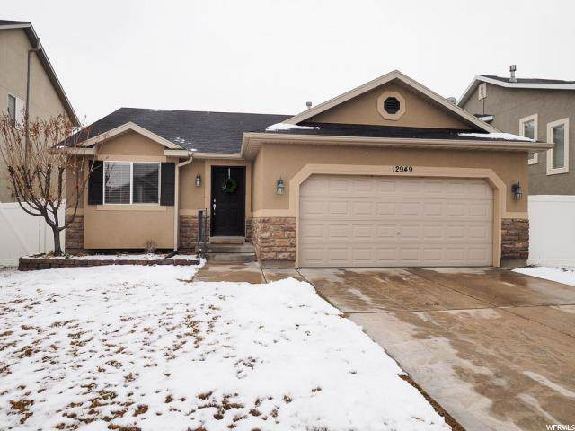12949 S Wild Mare Way, Riverton, UT 84096 (#1647859) :: Red Sign Team
