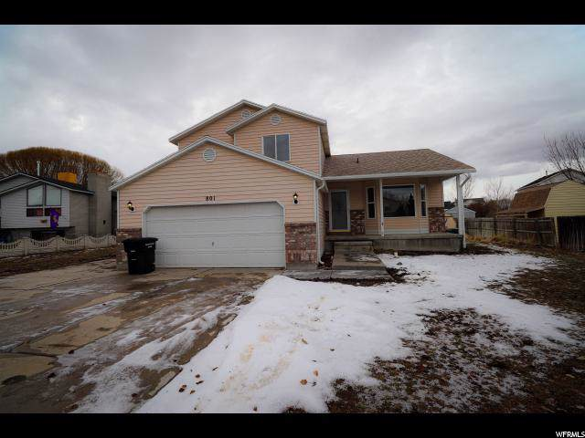 801 N Lakeview W, Stansbury Park, UT 84074 (#1647954) :: Red Sign Team