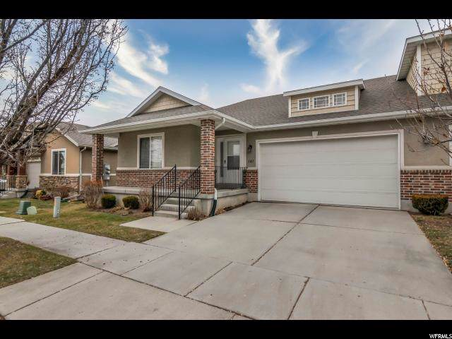 141 E Station Landing Way, Sandy, UT 84070 (#1647963) :: Red Sign Team