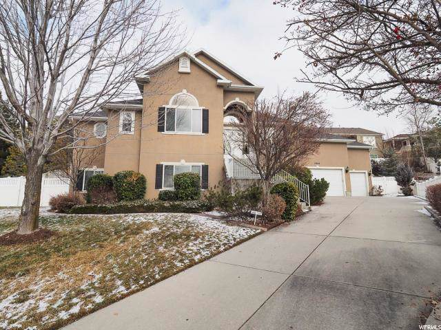 7909 S Desert Ridge Cv, Cottonwood Heights, UT 84121 (#1647978) :: Bustos Real Estate | Keller Williams Utah Realtors
