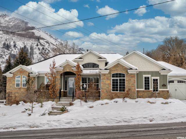 5643 N Robinson Ln, Mountain Green, UT 84050 (#1648230) :: Action Team Realty