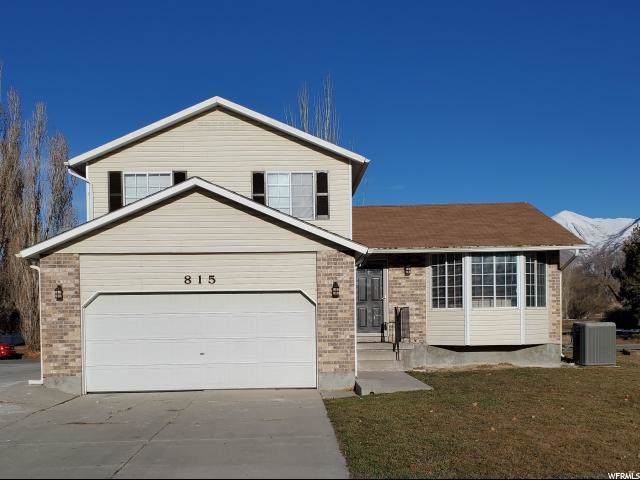 815 Lakeview, Stansbury Park, UT 84074 (#1648380) :: Red Sign Team
