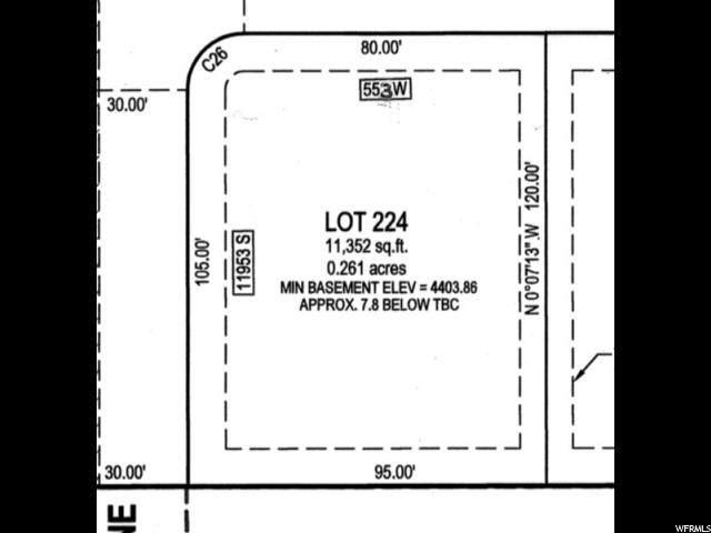 553 W Windmill Gate Cv, Draper, UT 84020 (#1648667) :: Red Sign Team