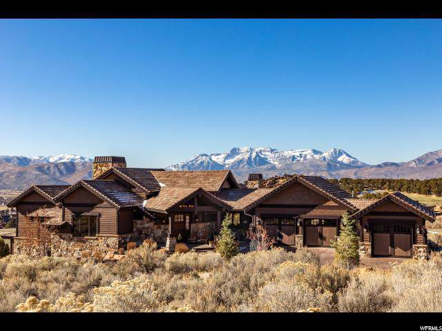 2910 E Brown Duck Mountain Cir, Heber City, UT 84032 (MLS #1649005) :: High Country Properties