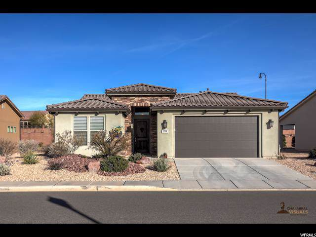 820 N Via Del Norte, Washington, UT 84780 (#1649045) :: Big Key Real Estate