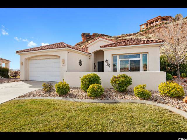 1083 W Shadow Ridge Ct, Washington, UT 84780 (#1649163) :: Big Key Real Estate