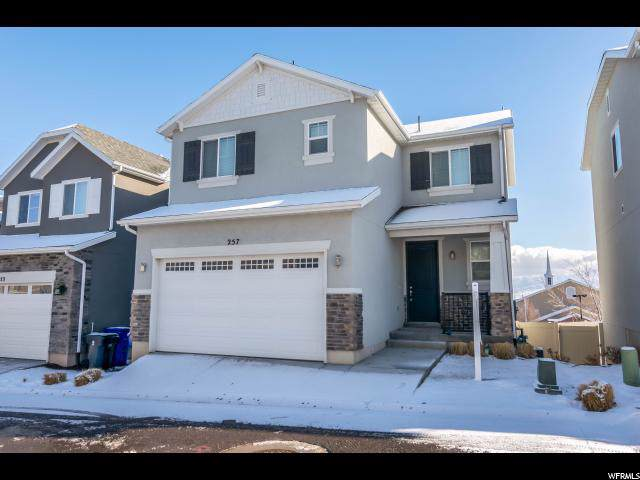 257 W Willow Creek Dr, Saratoga Springs, UT 84045 (#1649500) :: Red Sign Team