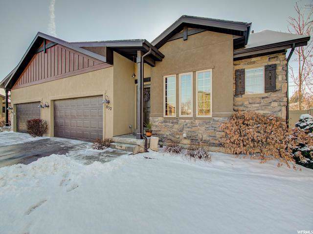 832 E Olivia View Ln, Salt Lake City, UT 84107 (#1649640) :: Big Key Real Estate