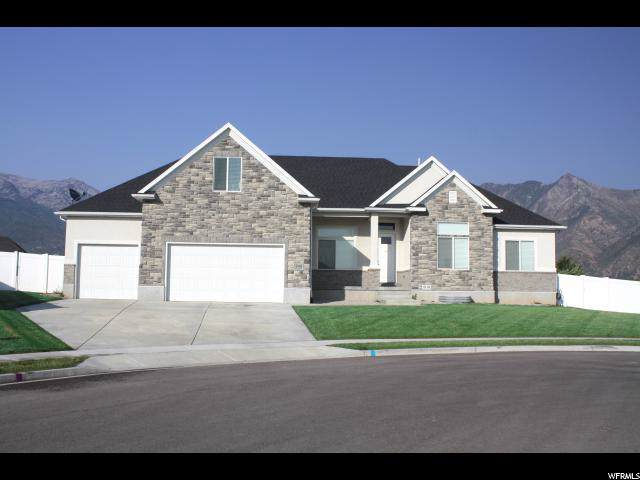 5958 W Beacon Meadow Cir, Highland, UT 84003 (#1650046) :: Big Key Real Estate