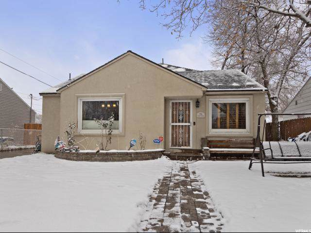 721 W Paxton Ave S, Salt Lake City, UT 84104 (#1650150) :: Colemere Realty Associates